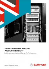 Dätwyler Datacenter-Verkabelung Katalog