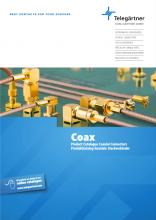 Telegärtner Coax - Katalog